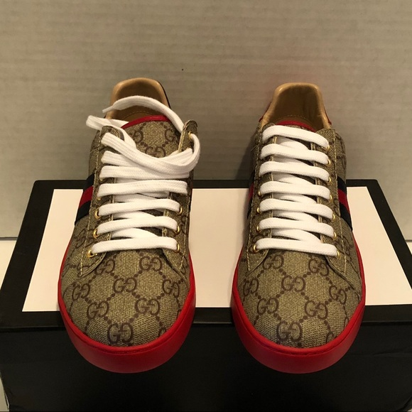 e05ed37f0f6bd Gucci Shoes - ace gg supreme sneaker
